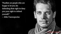 Milo Yiannopoulos is a gay conservative. He is being denied his rights to freedom of speech. Milo Yiannopoulos Quotes, Me Quotes, Liberal Logic, Out Of Touch, Pissed Off, Marketing Quotes, Word Up, Truth Hurts, Angst