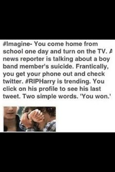I read this and it literally hurts. I just start crying.