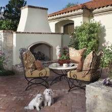 French-Country Garden - Phoenix Home & Garden