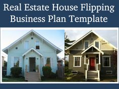 Real Estate house flipping business plan