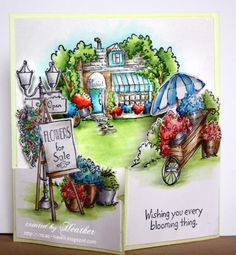Gorgeous Card by Heather for the Simon Says Stamp Wednesday Challenge (Mother's Day or Favorite Girl) March 2014