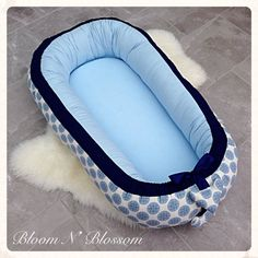 Baby Nest 0-24M REMOVABLE COVER Sleeping Pod Babynest Snuggle