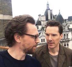 Tom Hiddleston and Benedict Cumberbatch 2018