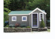 A cottage design that makes good use of space while being aesthetically The Heritage cottage can customized and split into living and storage spaces.
