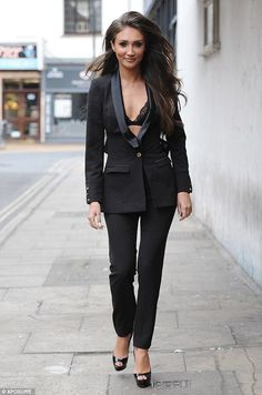 Here comes trouble! She caused quite the stir when she made her TOWIE debut. And Megan McKenna looked set to steal the spotlight once more as she joined her new ITVBe co-stars in Chelmsford on Sunday