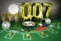 The name's Bond, James Bond. Check out our best James Bond party ideas for a brilliant adult birthday or New Year's Eve party theme. Party Food Themes, Casino Party Foods, Casino Party Decorations, Casino Night Party, Casino Theme Parties, Party Centerpieces, Party Favors, Party Ideas, Theme Ideas