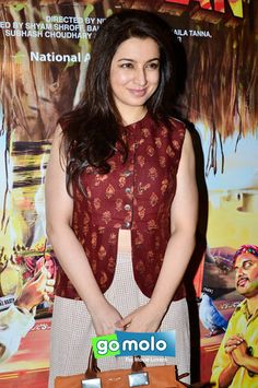 Tisca Chopra at the Special screening of Hindi movie 'Filmistaan' at Light Box in Mumbai