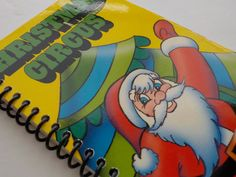 VHS Notebook 3.75 X 7.25 50 pages Christmas Circus by LeeEmporium