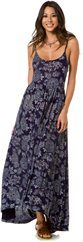 QUIKSILVER BLUE SKIES FLORAL MAXI DRESS > Womens > Clothing > Dresses | Swell.com