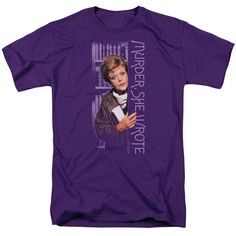 Murder She Wrote/Around The Corner Short Sleeve Adult T-Shirt 18/1 in
