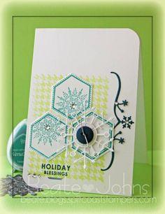 snowflake & hexagons