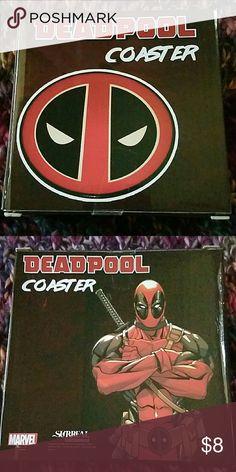 Marvel BRAND-NEW Deadpool coaster Other