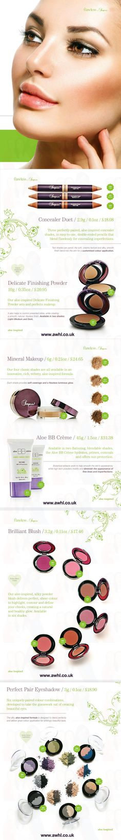 You are Flawless - Infused with the goodness of aloe and the latest innovations that nature and science offer, flawless by Sonya products empower women from around the world to explore and express their individual perception of beauty. http://team4dreams.flp.com/