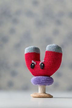 Crochet Pattern d'aimantshroom de  Plants vs Zombies  par Aradiya, $2.99