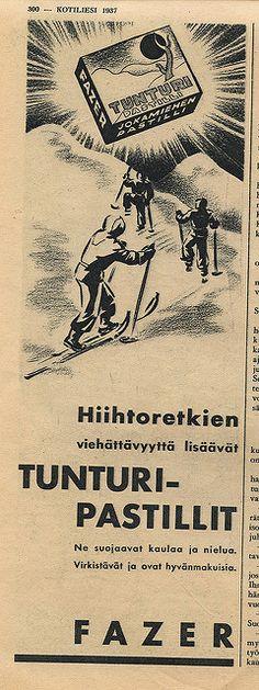 Tunturi-pastillit, 1937