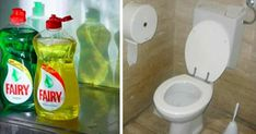 ViraLife - Why you need to flush dishwashing liquid in the toilet - the reason is much smarter than you think Toilet Decoration, Clogged Toilet, Bra Hacks, Dishwashing Liquid, Household Cleaners, Good To Know, Dishwasher, Jar, Soaps