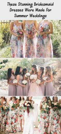 The Most Stunning Summer Bridesmaid Dresses Of 2018 #TealBridesmaidDresses #NeutralBridesmaidDresses #VelvetBridesmaidDresses #PeachBridesmaidDresses #IvoryBridesmaidDresses