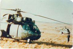 Helicópteros Puma del EA
