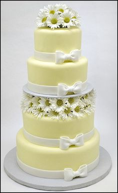 Fine example of how a wedding cake does not HAVE to be white.