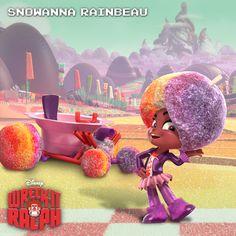 Snowanna Rainbeau, Wreck it Ralph