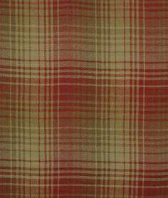 Beacon Hill Pampas Plaid Spice Fabric - $108.92 | onlinefabricstore.net