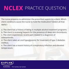 31 Best NCLEX Practice Questions images in 2019 | Nclex