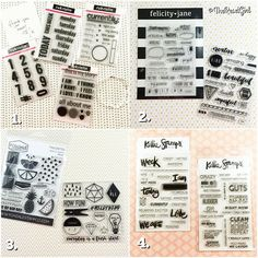 It's amazing how many cool resources for fun and amazing products there are in our community! I buy so many things that I love and each Saturday I want to devote some posts on where I am finding cool things you should know about too! STAMPS: Now that I am a full blown stamp addict I wanted to show you some fun and practical stamp sources that I have been loving! All of these are designed and offered by a #ladyboss and I wanted to give each a shout out: 1. @rukristin has a great little online…