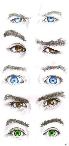 Niall liam louis zayn and harry's eyes. Yes theyre in order. Yes i know them by there eyes. Yes i know its weird. No im not ashamed. Yes, i love them.