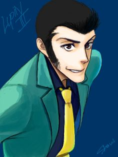 Lupin III by show-mutuki on DeviantArt