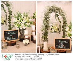 Cụm hoa và các sản phẩm trang trí