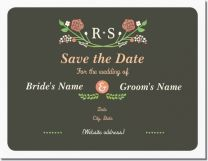 floral flowers Invitations & Announcements