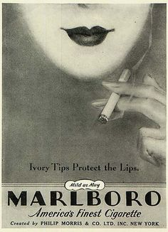 "as long as the"" ivory tips protect the lips""…thats all that matters! screw the lungs!"