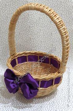 Поделка изделие Плетение Март-апрель Трубочки бумажные фото 30