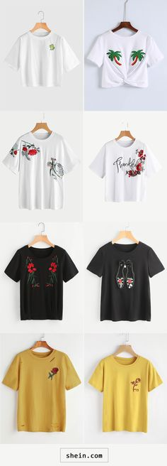 Embridery T-shirts