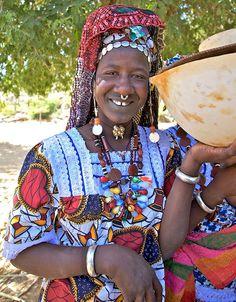 Africa | Fulani (Peule) woman in Mali | ©Annie Leroy