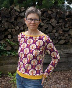 Liv Shirt aus Lillestoff Trees