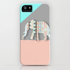 Elephant iPhone & iPod Case by Sunkissed Laughter - $35.00