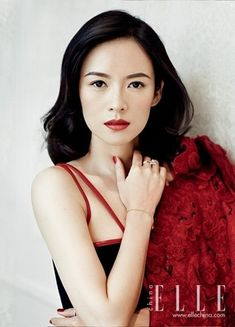 Zhang Ziyi for ELLE China