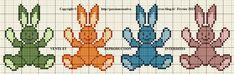 Grille gratuite point de croix : Haut les mains Peau de lapin - Le blog de Isabelle