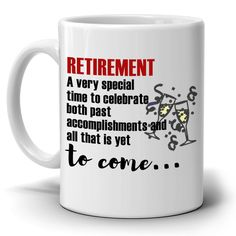 Inspirational Retirement Gift for Retired Coworkers Boss Men and Women Retirees, Printed on Both Sides! - Topic Money - Economics, Personal Finance and Business Diary Retirement Party Decorations, Retirement Cakes, Retirement Parties, Retirement Planning, Retirement Quotes For Coworkers, Mother Birthday Gifts, Friend Birthday Gifts, Business Diary, Altered Cigar Boxes