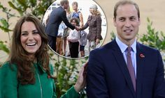 New Zealand's most ardent Royalists turn out for the Duke and Duchess in Cambridge 12th April 2014