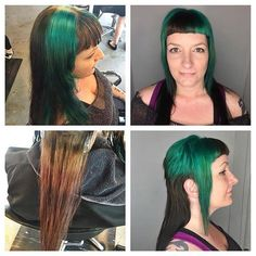 This long chelsea mullet by Jessica was exactly the change her client was looking for! Book today at www.thecherryblossomsalon.com or 404-856-0533