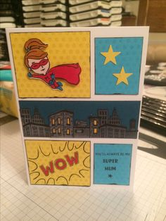 Stampin Up Everyday Hero Mothers Day Card