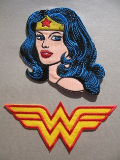 Wonder Woman Iron on Patches