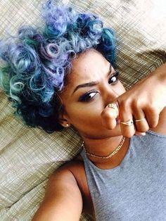 Pelo afro: fotos de los mejores looks - Pelo afro colores