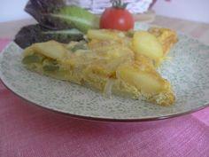 Czary w kuchni- prosto, smacznie, spektakularnie.: Frittata z ziemniakami i zieloną fasolą wielokwiat... Baked Vegetables, Potatoes, Eggs, Baking, Breakfast, Food, Morning Coffee, Potato, Bakken