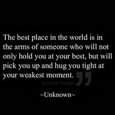 Couldn't agree more! My man has been there on my great days, and helped me thru my worst of days:) truly blessed.