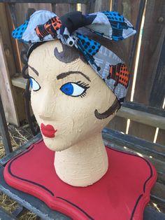 Dr who headband bandana hair bow