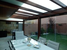 Pergola Attached To House Roof Balcony Decor, Roof Design, House Roof, Home, Pergola Lighting, House, Exterior Design, Screened In Patio, Small Pergola