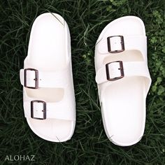0457d3e9f White buckle jandals® - pali hawaii sandals